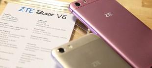ZTE Blade V6 Özellikleri ve İncelemesi