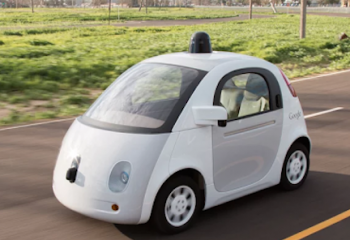 Sürücüsüz Araç İstatistiklerinde Google Araçları