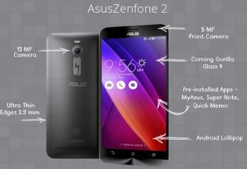 Asus ZenFone 2 Laser Ön Satışta!