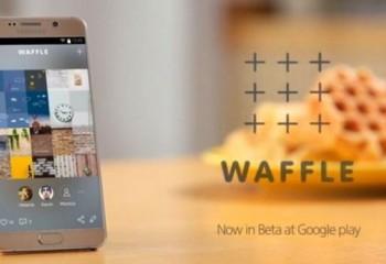 Samsung'tan Yeni Sosyal Medya Uygulaması: Waffle!