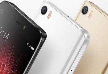 Xiaomi Mi 5S'e Süper Özellikler Ekleniyor