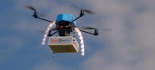 Acil Teslimatlar Dronelar Tarafından Yapılacak