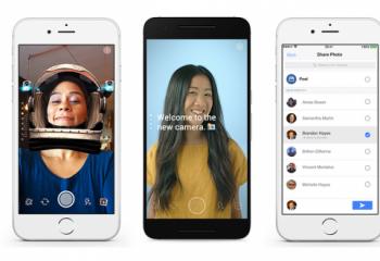Facebook'a Snapchat Efektleri Geliyor!