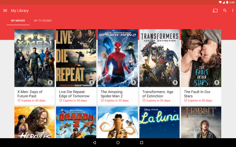 google-play-filmler