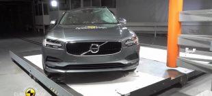 Volvo S90 2017 Euro NCAP Testlerini Başarıyla Tamamladı!